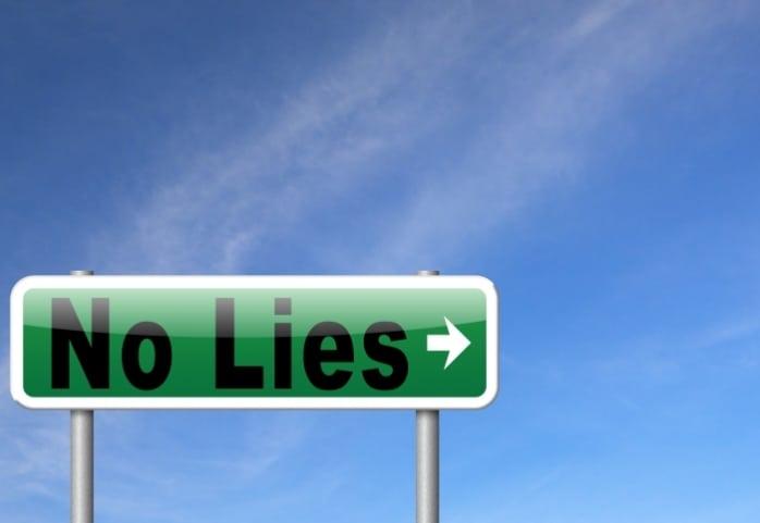 Jeste li uvijek iskreni?